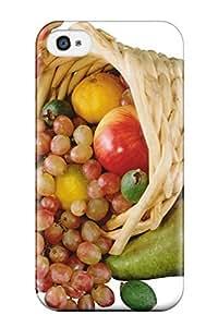 Tpu ManuelAW Shockproof Scratcheproof Fruit Cornucopia Hard Case Cover For Iphone 4/4s