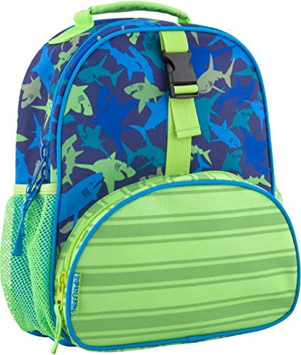 Stephen Joseph All Over Print Mini Backpack, Shark by Stephen Joseph