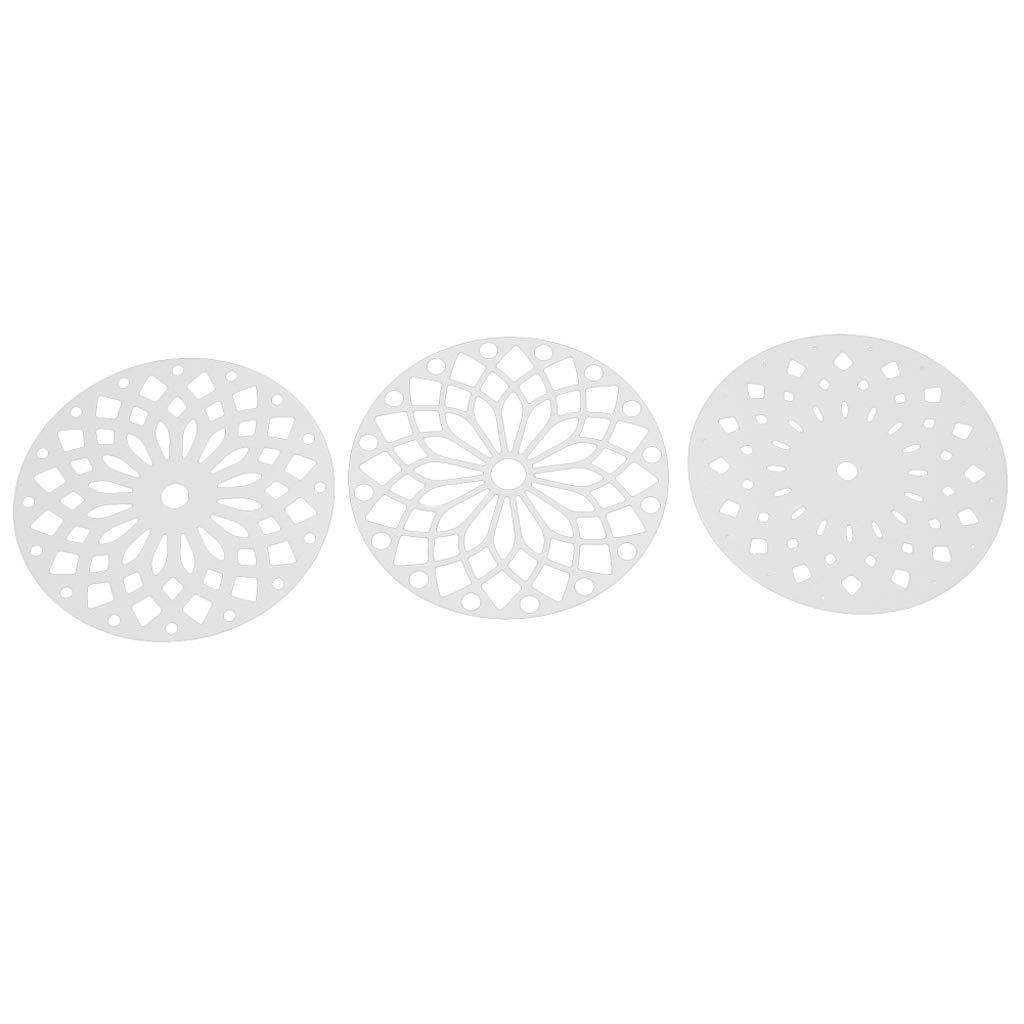 Ranuw Matrices De D/écoupe,M/étal Rond De Coupe Meurt Pochoir Bricolage Scrapbooking Album Papier Timbre Carte Gaufrage Artisanat