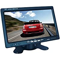 Soled Portable 7 TFT LCD Digital Color Screen Monitor for Car Rear View Backup Camera
