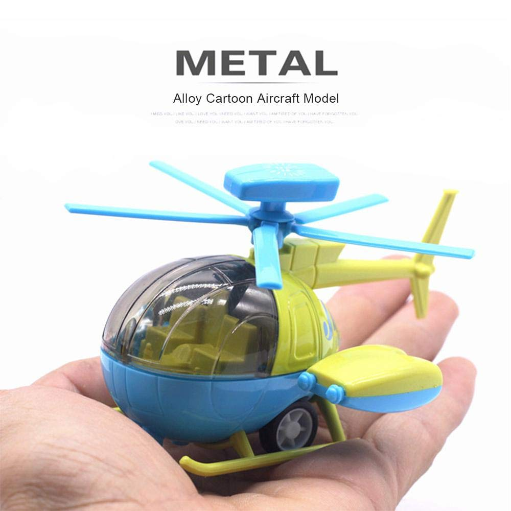 Girls Pull Back and Go Car Plane Toys Birthday Gifts for Toddlers Boys lesgos Pull Back Helicopter Toy Pullback Airplane Toy for Children Early Education Learning