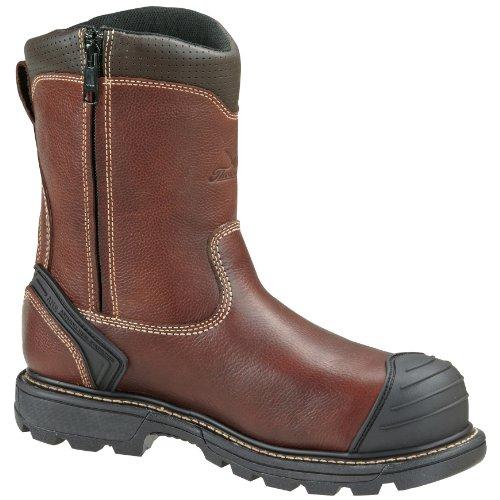 Thorogood Mens 8 Plain Teen Wellington Side-zip Composiet Veiligheidslaarzen 804-4440 Bruin