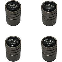 AEMULUS Black Chrome Auto Car Wheel Tire Air Valve Caps Tire Decoration For Car Auto Jaguar