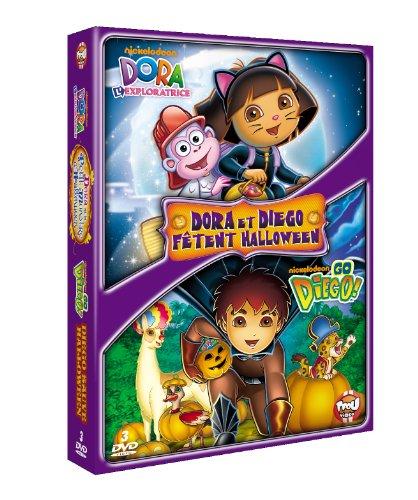 Dora l'exploratrice - Dora et le petit monstre d'Halloween + Go Diego! - Diego sauve Halloween ()