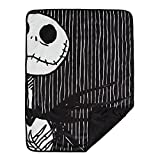 "jack skellington blanket - Disney Nightmare Before Christmas Jack Skellington Luxury Multi-Functional Pet Throw Blanket, Portable Dog/Cat Mat, 30""x40"", Collector's Edition"
