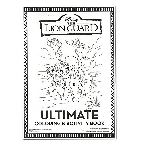 Amazoncom Lion Guard Coloring and Activity Book with 2 Poster