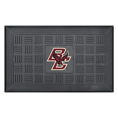 NCAA Boston College Eagles 3-D Team Medallion Vinyl Door Mat ()