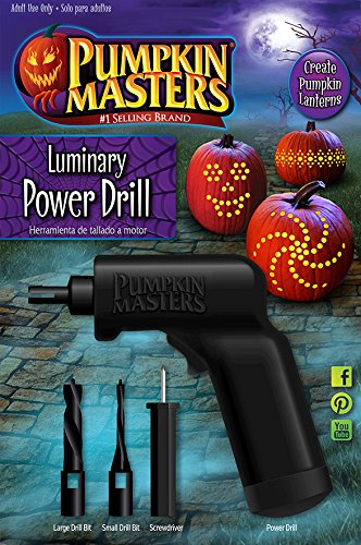 Pumpkin Masters Luminary Power Drill - Create Pumpkin Lanterns