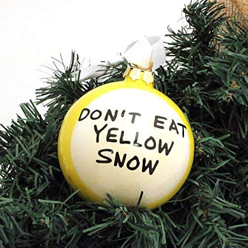 Don't Eat Yellow Snow Christmas ()
