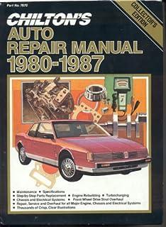 chilton s auto repair manual 1972 79 chilton s auto service manual rh amazon com chilton car manuals free chilton car repair manuals