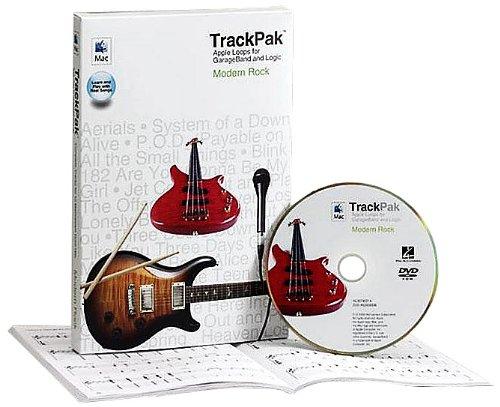 Modern Rock TrackPak: Apple Loops for GarageBand and Logic - Book and DVD-ROM (Loops Garageband Apple)