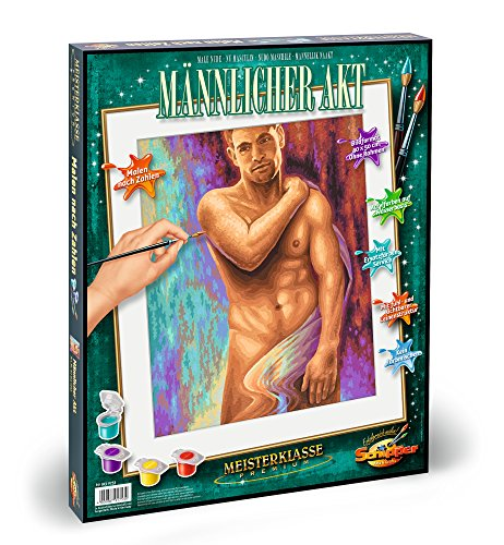 Schipper 609130753 Male Nude Paint by Numbers by - Dutch Men Nude