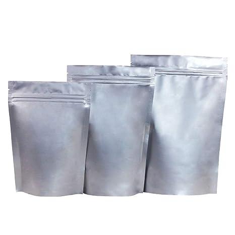 XiBag 100PCS Stand Up Bolsas de almacenamiento impermeables ...