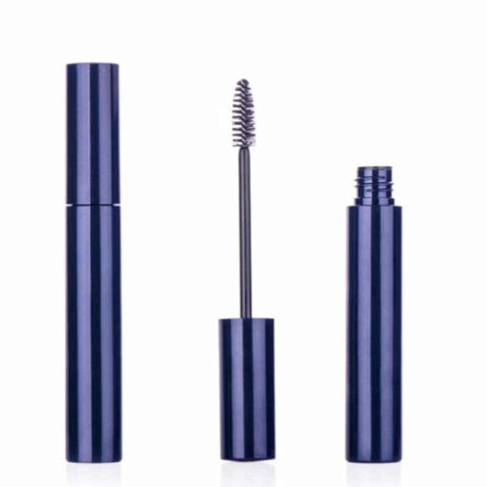 6 PCS 10ml Empty Plastic Mascara Tube Eyelashes Cream Tube Jar Bottle Container with Eyelash Brush DIY(Blue) ASTRQLE