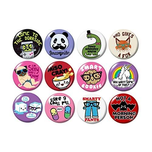 Cute Misc. Buttons Pins ()
