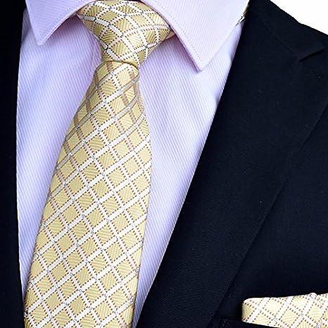 XZLP99 Los Hombres Trajes De Vestir Corbata De Seda Impresa Lazos ...