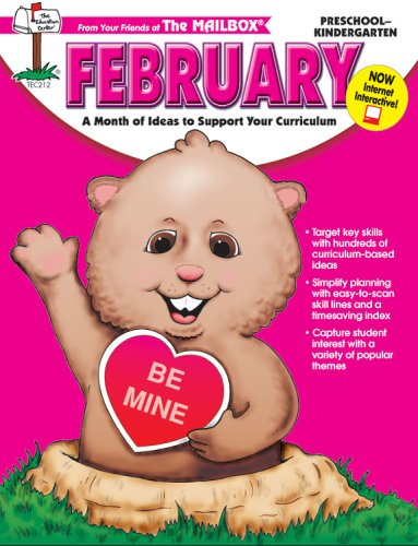 February Monthly Idea (February Monthly Idea Book)