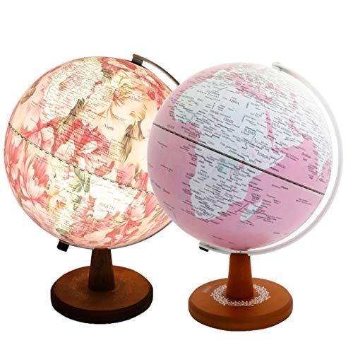 Metallic Silver Floating Globe - Exerz 10