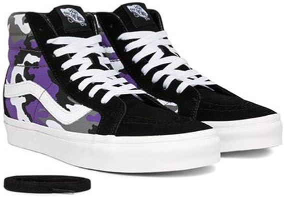 Vans Sk8 Hi Pop Camo Skate Shoe (7.5