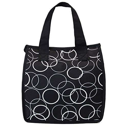 insulated lunch tote zippered - 2