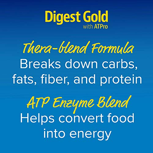 Enzymedica - Digest Gold with ATPro, Daily Digestive Support Supplement with Enzymes and ATP, 240 Capsules (FFP) by Enzymedica (Image #4)