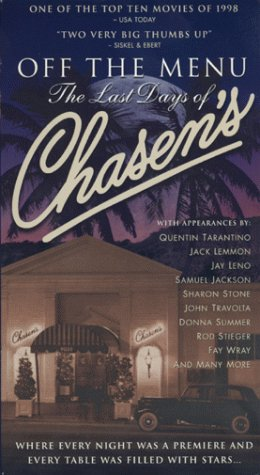 Off the Menu: The Last Days of Chasens [USA] [VHS]: Amazon.es