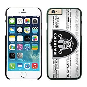 NFL iPhone 6 4.7 Inches Case Oakland Raiders Black iPhone 6 Cell Phone Case HGEROVFD3243
