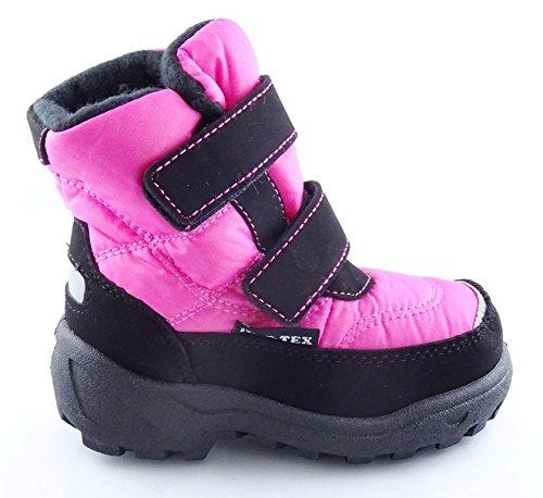MÄDCHEN SCHUHE WINTERSTIEFEL *KAT-TEX Membrane* GR.22-27 -46-0130 Pink