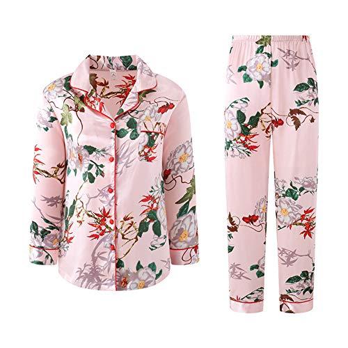 Pigiami Lunghe Photo Pigiama In Color Pantaloni Da Meaeo Vestiti Medicazione A Maniche Notte Cotone Homewear Set Pigiama q4xBwP