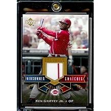 2005 Upper Deck All-Star Classics Ken Griffey Jr Midsummer Swatches Jersey Cincinnati Reds Baseball Card Mint Condition