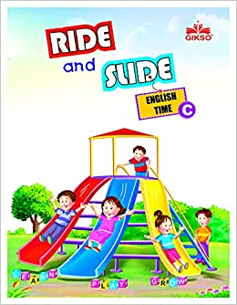 Book English Book For U.K.G. - Ride and Slide C (English book for kids)