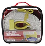 Erickson 59350 White 1'' x 15' Recovery Strap,7500 lbs Breaking Strength , 3750 lbs Maximum Vehicle Weight Capacity