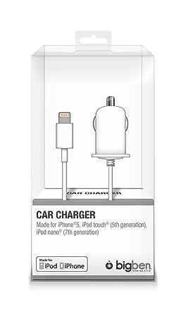 Big Ben ML 311341 - BIG BEN Cargador de coche para iPhone 5S ...