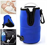 in car water heater - ANGELS--Portable 12V in Car Auto Travel Baby Food Milk Water Bottle Cup Warmer Heater