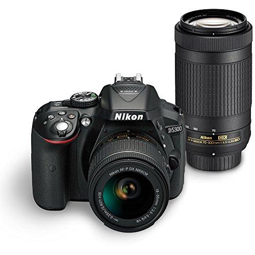 Nikon D5300 Digital SLR Camera Dual Lens Kit from Nikon