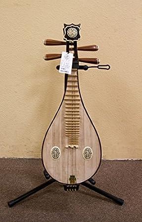 Dunhuang concierto Liuqin Liu Qin laúd chino guitarra instrumento: Amazon.es: Instrumentos musicales