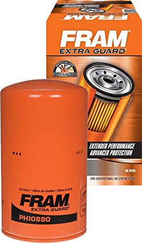 Ford Diesel Oil Filter - FRAM PH10890 Spin-On Oil Filter