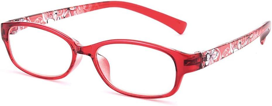 OYNN Gafas de Lectura Ligeras y cómodas de Moda Joven, luz Anti-Azul, protección contra la radiación, protección contra Rayos Ultravioleta, Gafas antifatiga