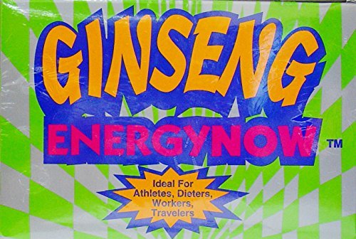 Genuine Ginseng Energy Now Lot of 36 Packs (108 Tablets) Review