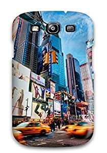 Special Design Back Times Square New York Phone Case Cover For Galaxy S3