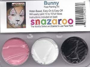 Snazaroo Bunny Rabbit Face Paint Theme Kit