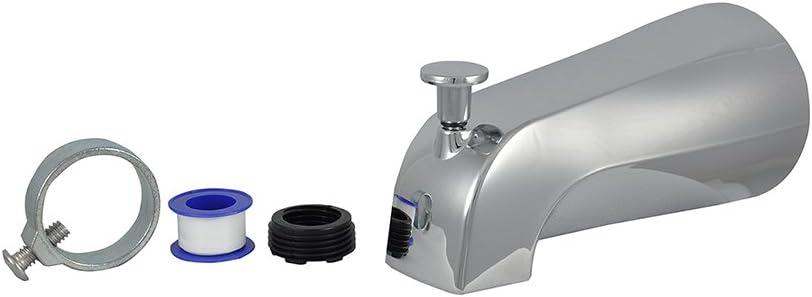 B000FK9S4E DANCO (88703) Tub Spout with Diverter, Chrome Finish, 1-Pack 513RdeGsMaL