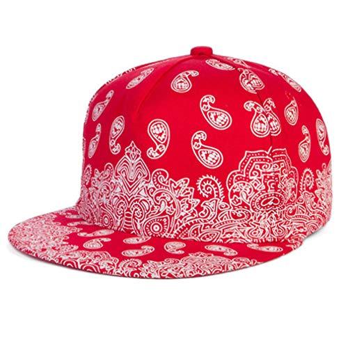 Baseball Cap Adult Acrylic Cashew Flowers Bone Aba Reta Hip Hop Hats for Women Men Last Kings red - 25 Cashew Lb