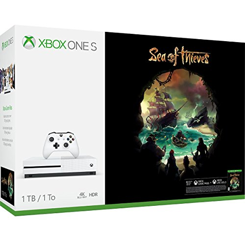 Xbox One S 1TB Console - Sea of Thieves Bundle (And One 1)