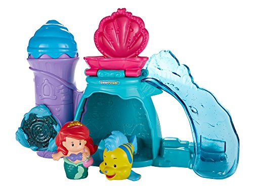 Fisher-Price Disney Princess Ariel's Splashing Grotto by Little People (Disney Princess Tub compare prices)