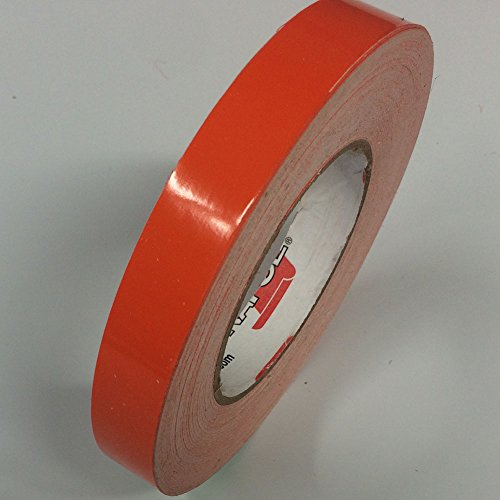 (ORACAL Vinyl Striping Tape 651 - Pinstripes, Decals, Stickers, Striping - 4 inch x 150ft. roll - Orange)