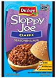 Durkee Sloppy Joe Seasoning 1.50oz (Pack of 18)