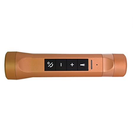 Multifunctional Music Torch 4-in-1 Bluetooth Speaker Handsfree LED