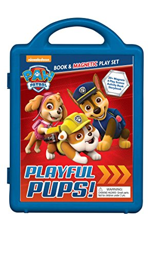 PAW Patrol: Playful Pups!: Book & Magnetic Playset