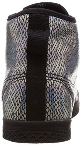 adidas Originals-HONEY MID W Femme Argent-Noir M20775